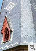 """""""Rathscheck šīfera jumts - Šaurleņķa dekoratīvais ieklājums"""""""